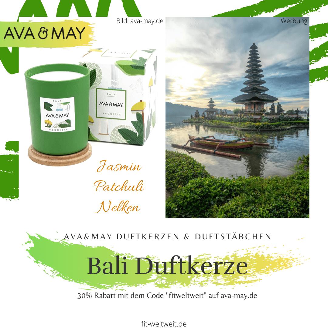 Ava&May Bali Duftkerze Erfahrung Indonesia