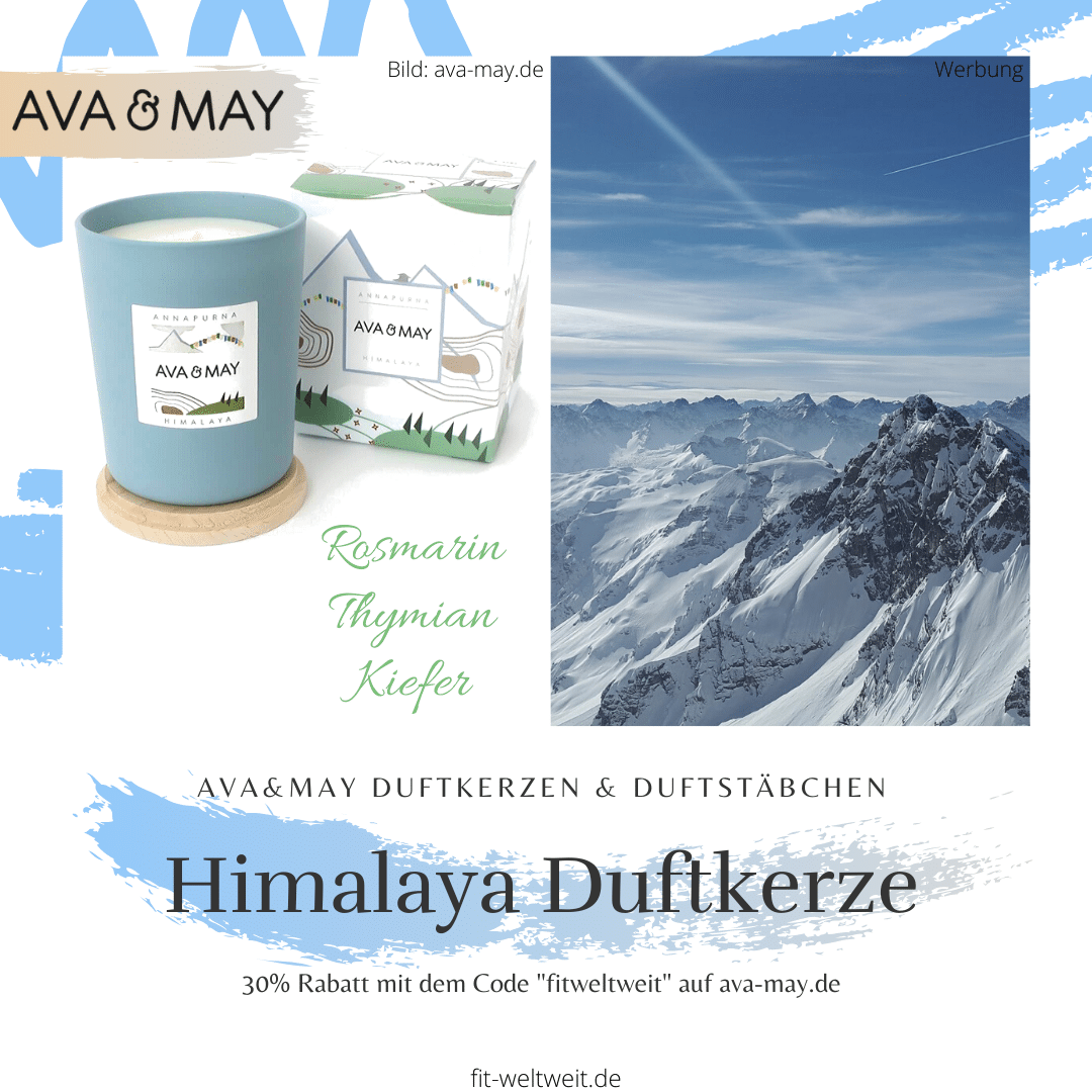 Ava&May Himalaya Duftkerze Erfahrung Annapurna