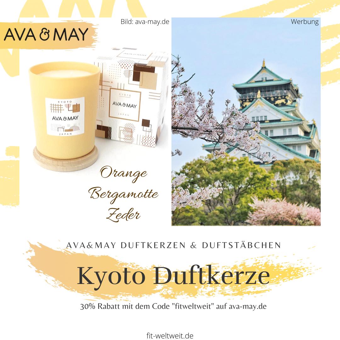 Ava&May Kyoto Duftkerze Erfahrung Japan