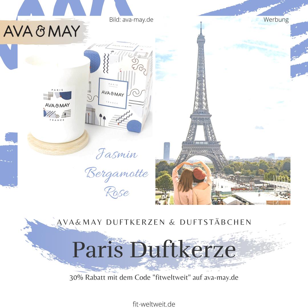 Ava&May Paris Duftkerze Erfahrung France