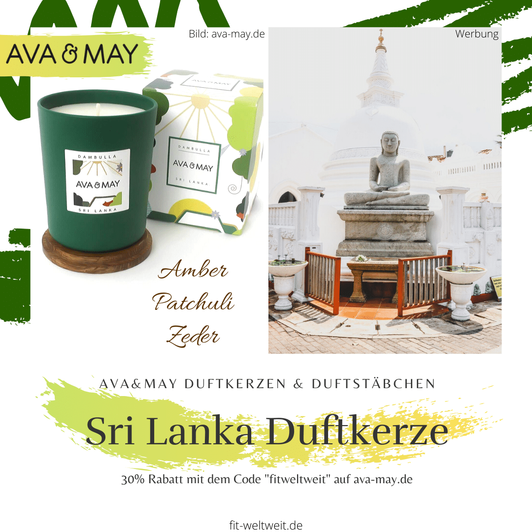 Sri Lanka Ava & May Duftkerze Erfahrung (Dambulla Kerze)