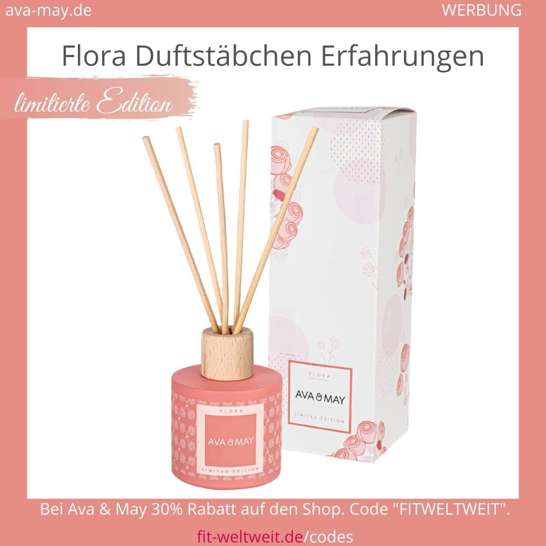 Flora limitiert AVA & MAY DUFTSTÄBCHEN ERFAHRUNGEN Ava and May