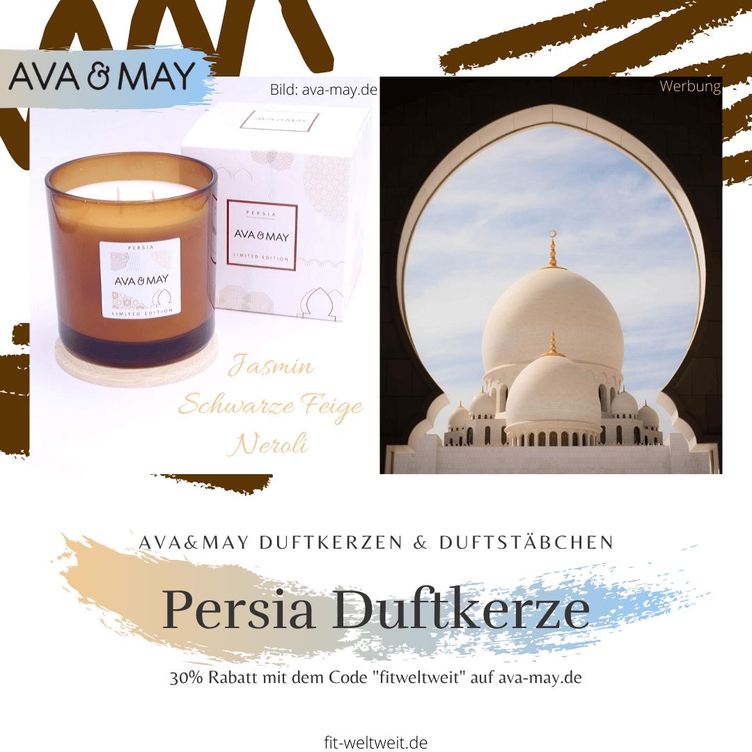 Kerze Ava May Persia große Duftkerze