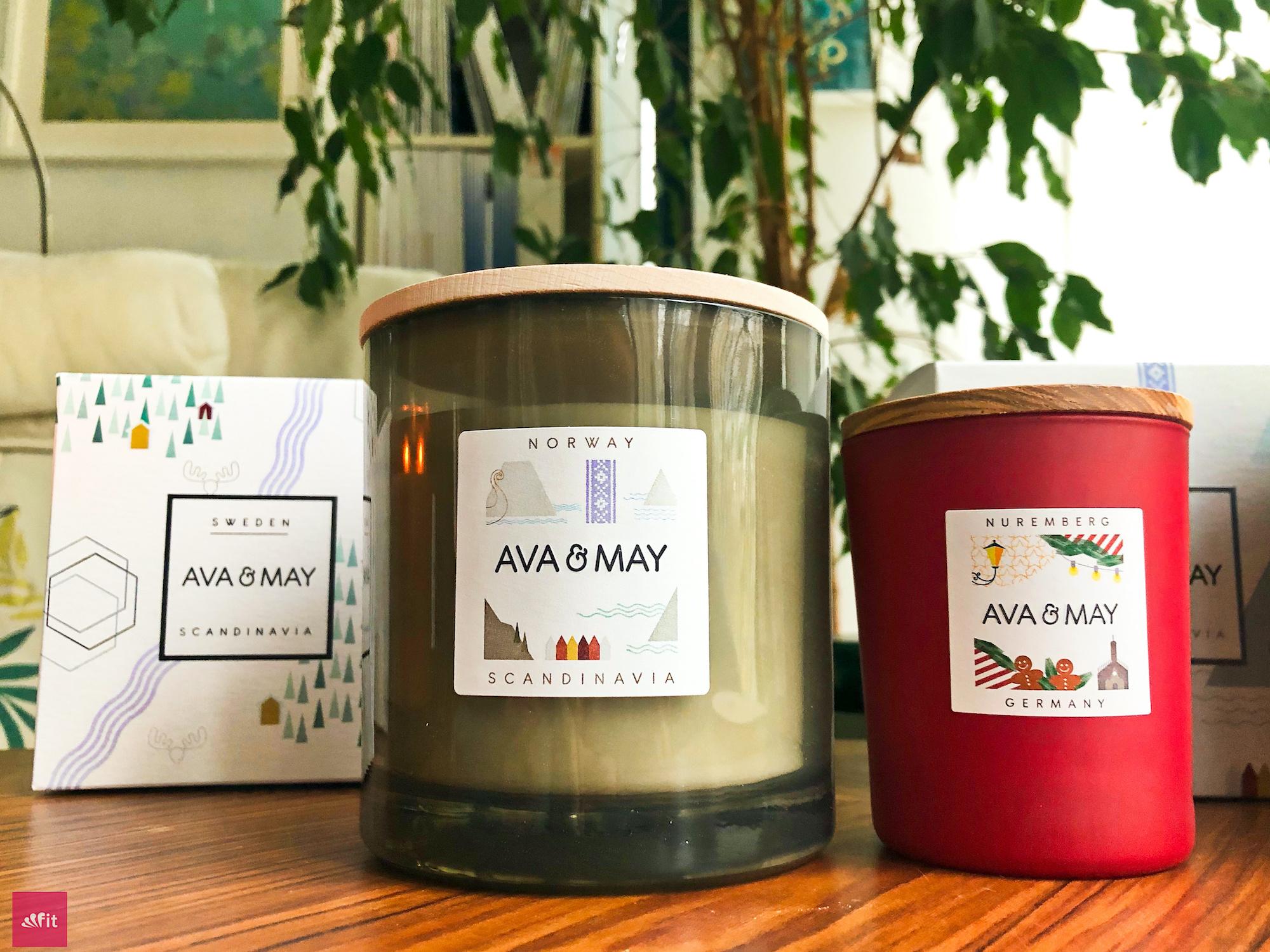 """Die schönsten Düfte ganz im Sinne des skandinavischen Minimalismusvereint. Die sanften Nuancen der Persia-Kerze werden durch die Wärme der Skandinavien-Reihe. Besonderes Erlebnis der Gemütlichkeit für dein Zuhause. Sie passen zudem optisch und vom Duft perfekt zusammen. Duftnoten des Trios: frisch, holzig, süß #Duftkerzen #Wohnzimmer #cozy #einrichtung #badezimmer #wohnung #wohnen #design #deko #dekoration #reisen // Ava & May Shop mit dem Code """"fitweltweit"""" 30% Rabatt (Werbung)"""