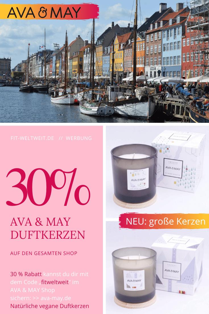 """AVA MAY große Duftkerzen Erfahrungen - ava&may Kerzen (Werbung) Es gibt derzeit 3 Sorten: Schweden, Norwegen und die bleibet Persia Limited Edition.Du möchtest die Duftkerzen testen? ImAva & May Shop mit dem Code """"fitweltweit"""" 30% Rabatt(Höchstrabatt). Tipp: Nehme ein Set, denn Sets gibt es zum Vorteilspreis. So 35%, 40% oder mehr Rabatt bekommen. #Diffuser #Duftstäbchen #Kerzen #Duftkerzen #Wohnzimmer #cozy #einrichtung #badezimmer #wohnung #wohnen #design #deko #dekoration #reisen"""