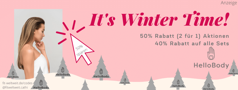 Hello Body Code 50% Winter Sale