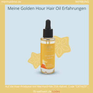 Golden Hour Haar Öl Mermaid Me Erfahrungen Hair Oil