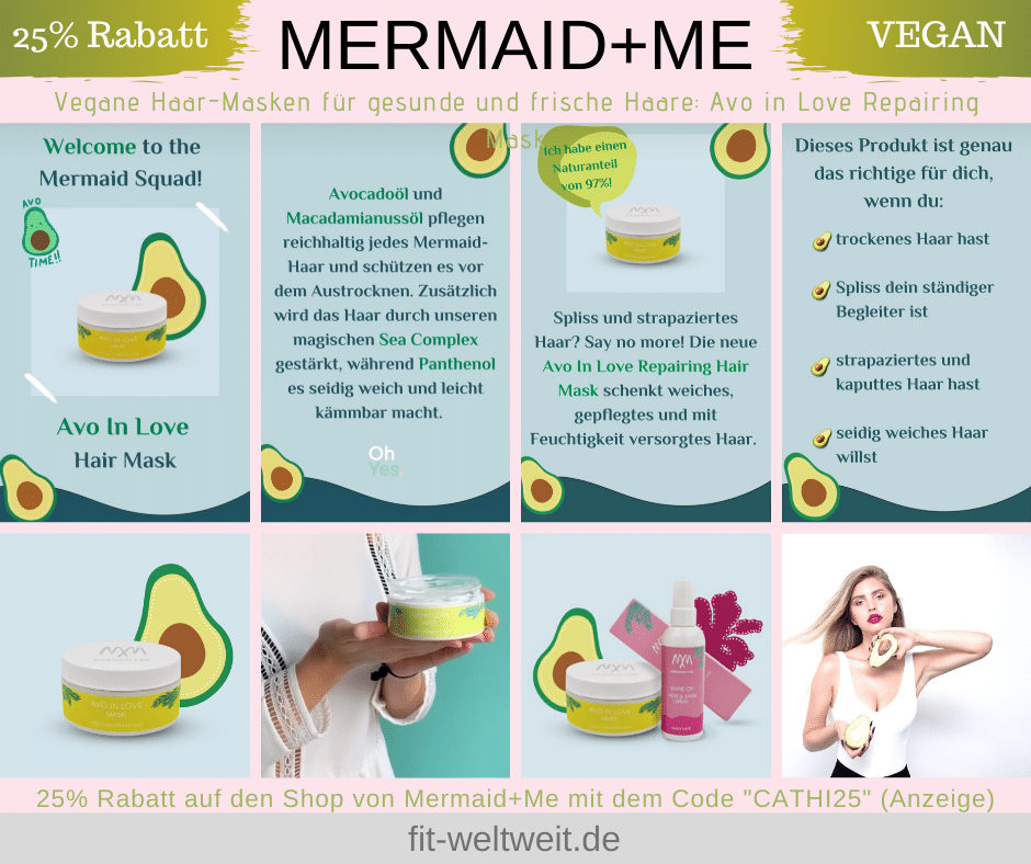MERMAID+ME ERFAHRUNGEN ALO IN LOVE VEGANE HAARMASKE