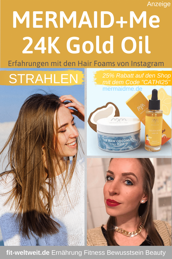 Mermaid Me 24 Karat Gold Haaröl Erfahrungen Hair Oil