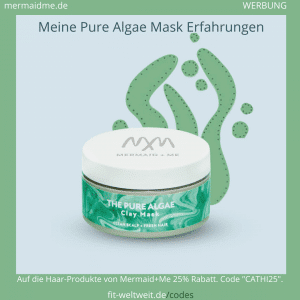 Pure Algae Haarmaske Mermaid Me Erfahrungen Hair Clay Mask