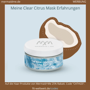 Raw Coconut Haarmaske Mermaid Me Erfahrungen Clay Hair Mask