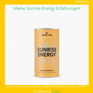 Sunrise Energy tea natural mojo erfahrungen tee