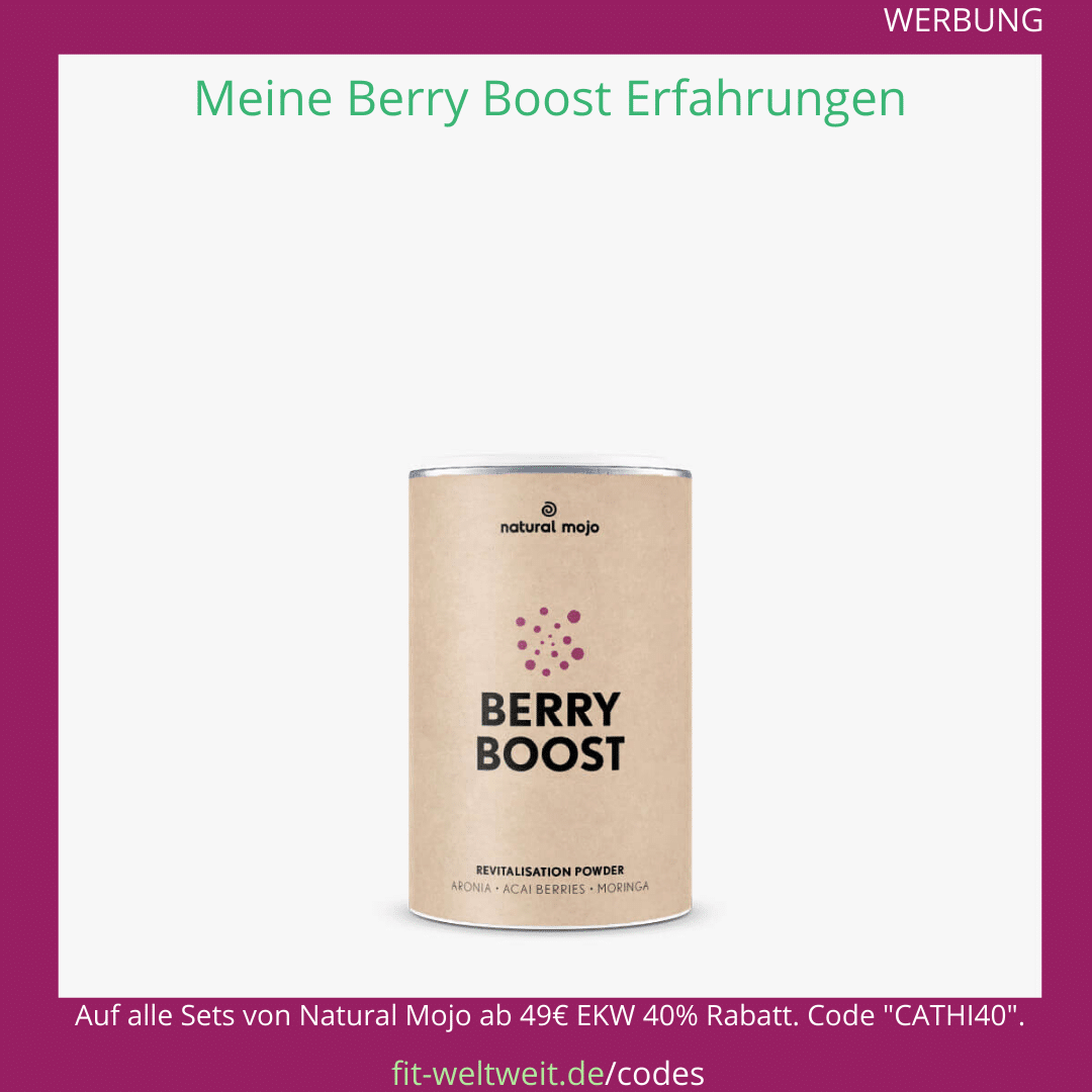 berry boost pulver natural mojo erfahrungen Rezepte