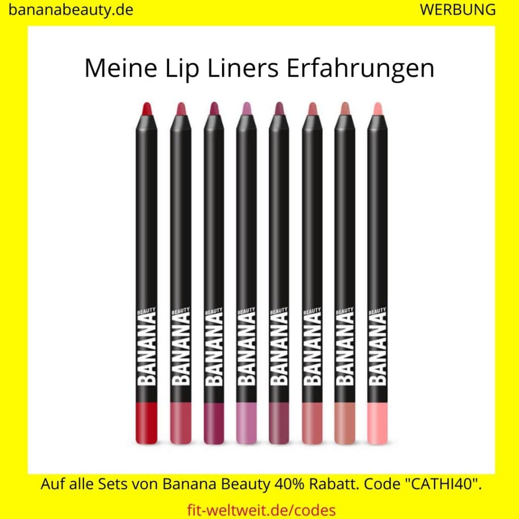 Banana Beauty Erfahrungen Lip Liners fitwelteit
