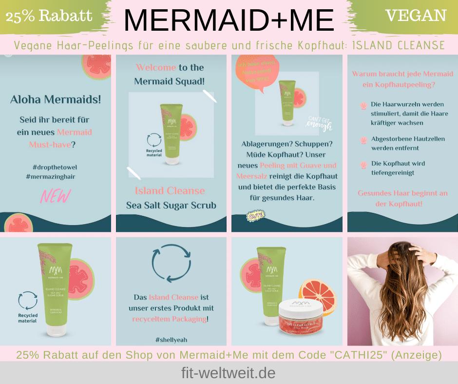 Mermaid Me Island Cleanse Kopfhaut Peeling Erfahrungen Anwendung