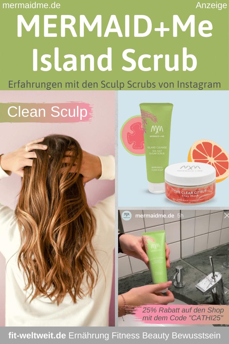 Mermaid Me Island Scrub Erfahrungen Haare Kopfhaut