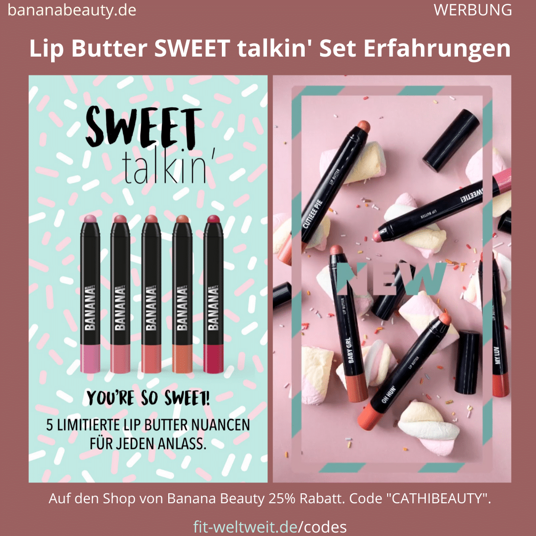 BANANA BEAUTY Lip Butter SWEET talkin' Set Erfahrungen