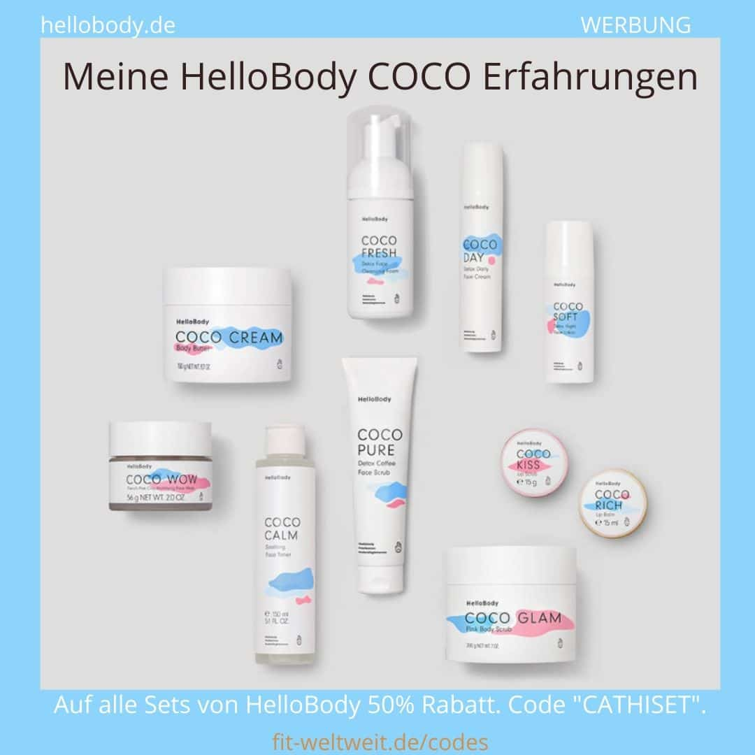 COCO Hello Body Erfahrungen Cream Wow Calm Pure Fresh Day Soft Kiss Rich Glam