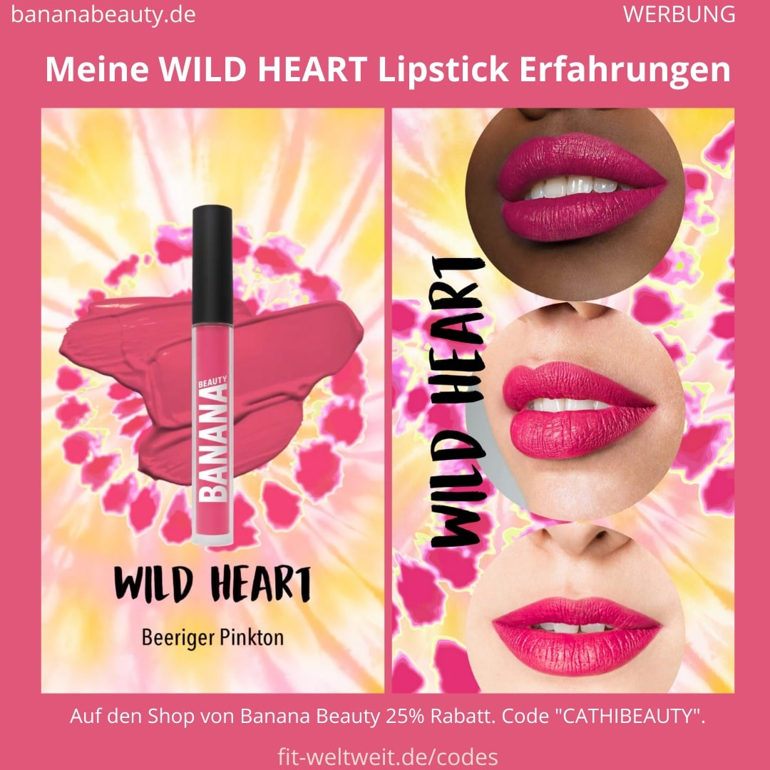 Liquid Lipsticks Banana Beauty WILD HEART ERFAHRUGEN Boho Vibes Set