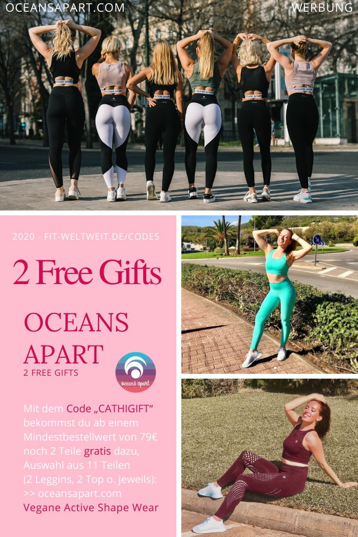 2 free gifts Oceans Apart Code gratis Leggins Geschenke