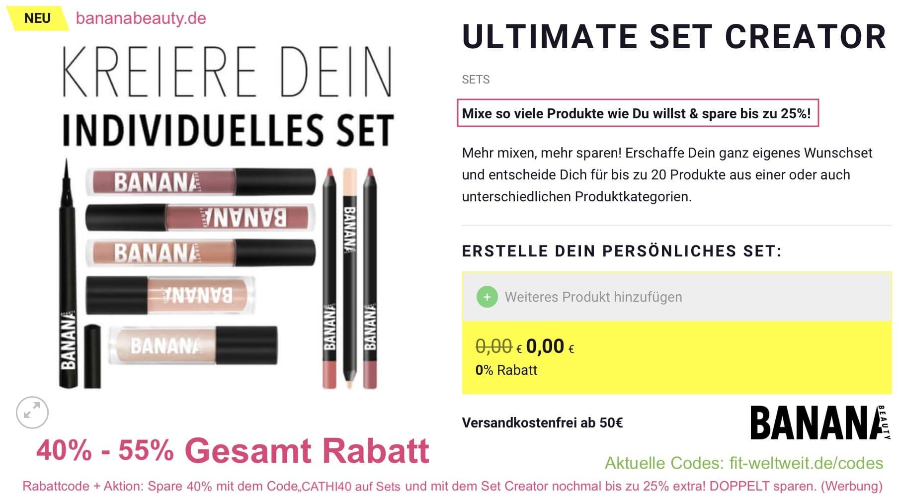 """#KOSMETIK #BANANABEAUTY #VEGAN #RABATTCODE #ERFAHRUNGEN #INSTAGRAM // BANANA BEAUTYERFAHRUNGEN (Werbung) Crueltyfree Kosmetik (tierversuchsfrei) Liquid Lipsticks und die Brushes sind vegan. Meine ganzenBANANA BEAUTY Erfahrungen mit den Kosmetik Produkten. Banana Beauty Lipstick Farben, Erfahrungsbericht (Was passt zu wem?), Lippenstifte, Lipliner Erfahrungen, Eyeshadow Paletten von Banana Beauty // 25% Rabatt bekommst du im gesamten Shop von Banana Beauty mit dem Rabatt Code """"CATHI40"""""""
