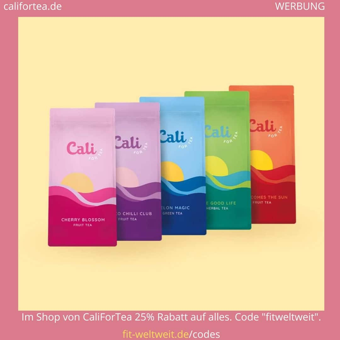 Cali for Tea Rabattcode Gutscheincode 2020 Califortea