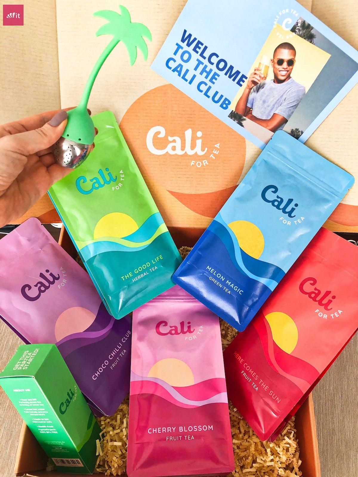 CaliforTea Erfahrungen Instagram Tee Cali for Tea Anwendung