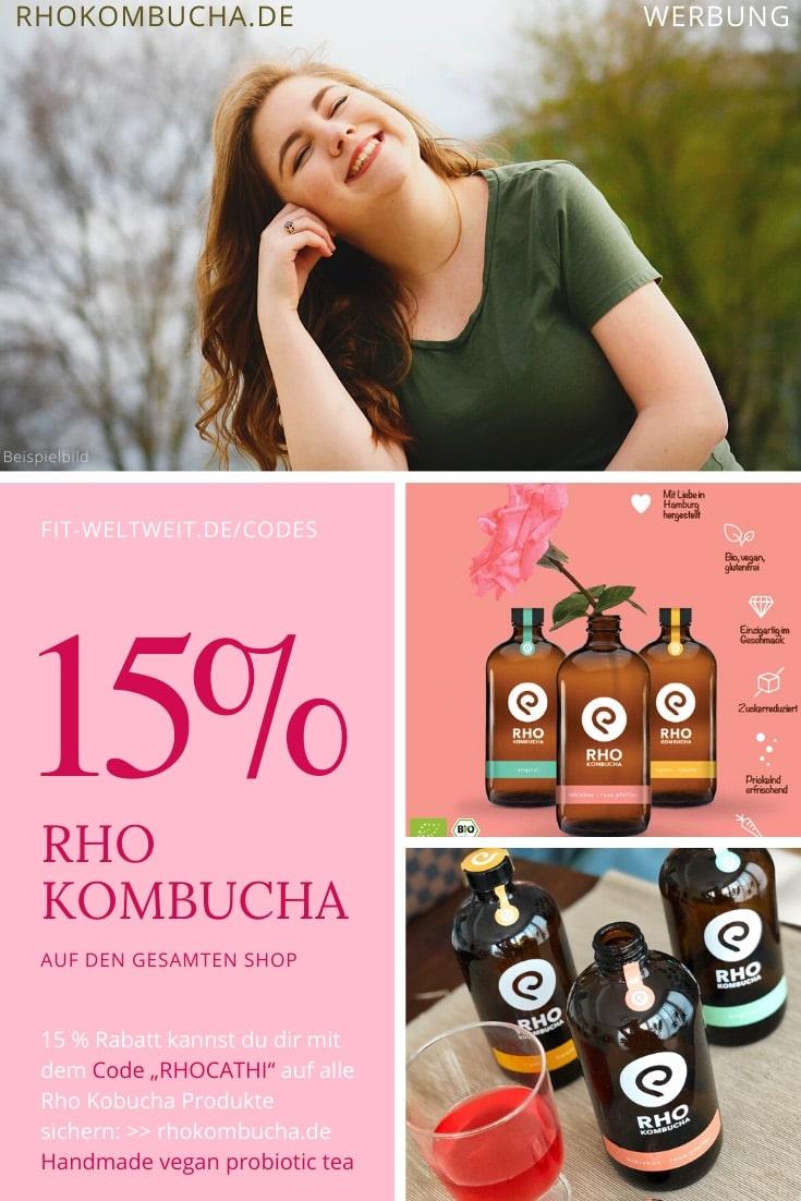 RHO Kombucha Tee Rabatt Code 15% Gutschein