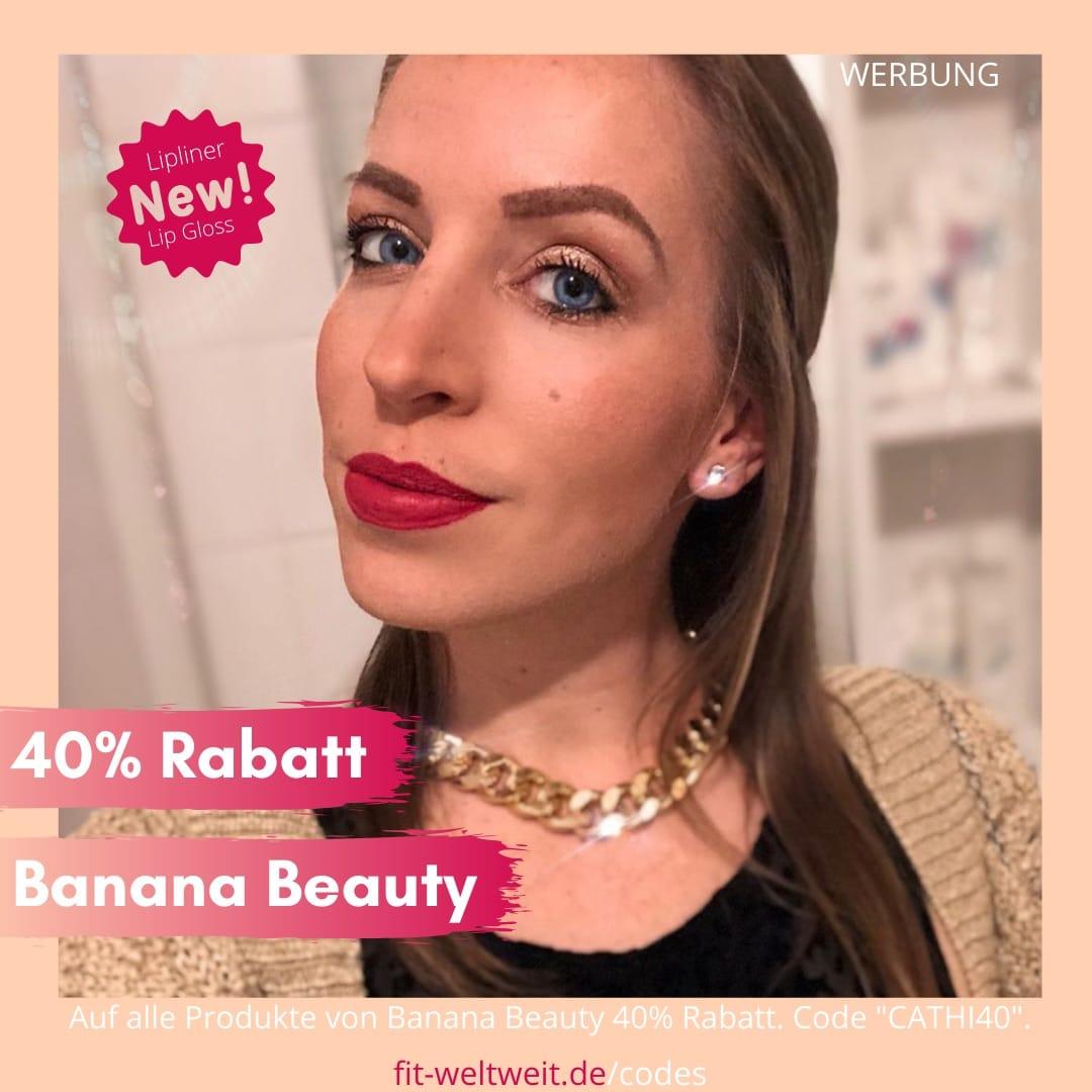 """Banana Beauty Mascara Anleitung 40% Gutschein Code 50% bis 60% Rabatt. Banana Beauty Mascaras im Test. Meine Erfahrungen mit den Wimperntuschen (Werbung) 40% Rabatt auf alle Banana Beauty Sets mit dem Code """"CATHI40"""".In meinem Erfahrungsbericht gehe ich wieder einmal ausführlich auf meine Erfahrungen mit den Wimperntuschen von Banana Beauty ein."""