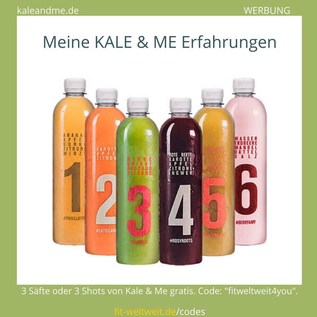 """#SAFTKUR #SÄFTE Deine #Morgenroutine mit #Sellerie #Saft und Ingwer Shots: Trinke für 14 Tage jeden Morgen eine Flasche des Kale & Me Selleriesaftes Cedric Celery (500ml) auf nüchternen Magen, warte mindestens 30 Minuten und trinke dann eine Flasche des #Ingwer Shots Ginny Ginger (100ml) zu Deinem #Frühstück. Ernähre Dich über den Tag mit einer abwechslungsreichen und ausgewogenen #Ernährung und verfolge eine gesunde Lebensweise. 3 Säfte/Shots gratis mit dem Code """"fitweltweit4you"""" (Werbung)"""