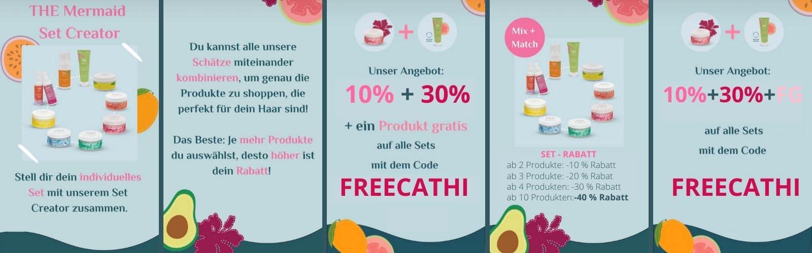 Mermaid+Me Code 50% Doppelrabatt 40% + 30% Rabatt + free Gift Gutscheincode