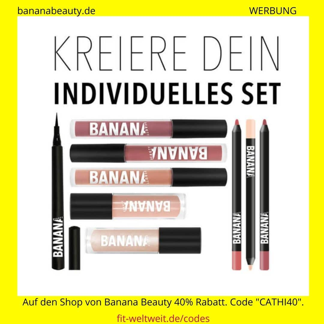 Banana Beauty 40% Rabatt Code Cathi40 September Oktober 2020 bis 60% im Set Creator