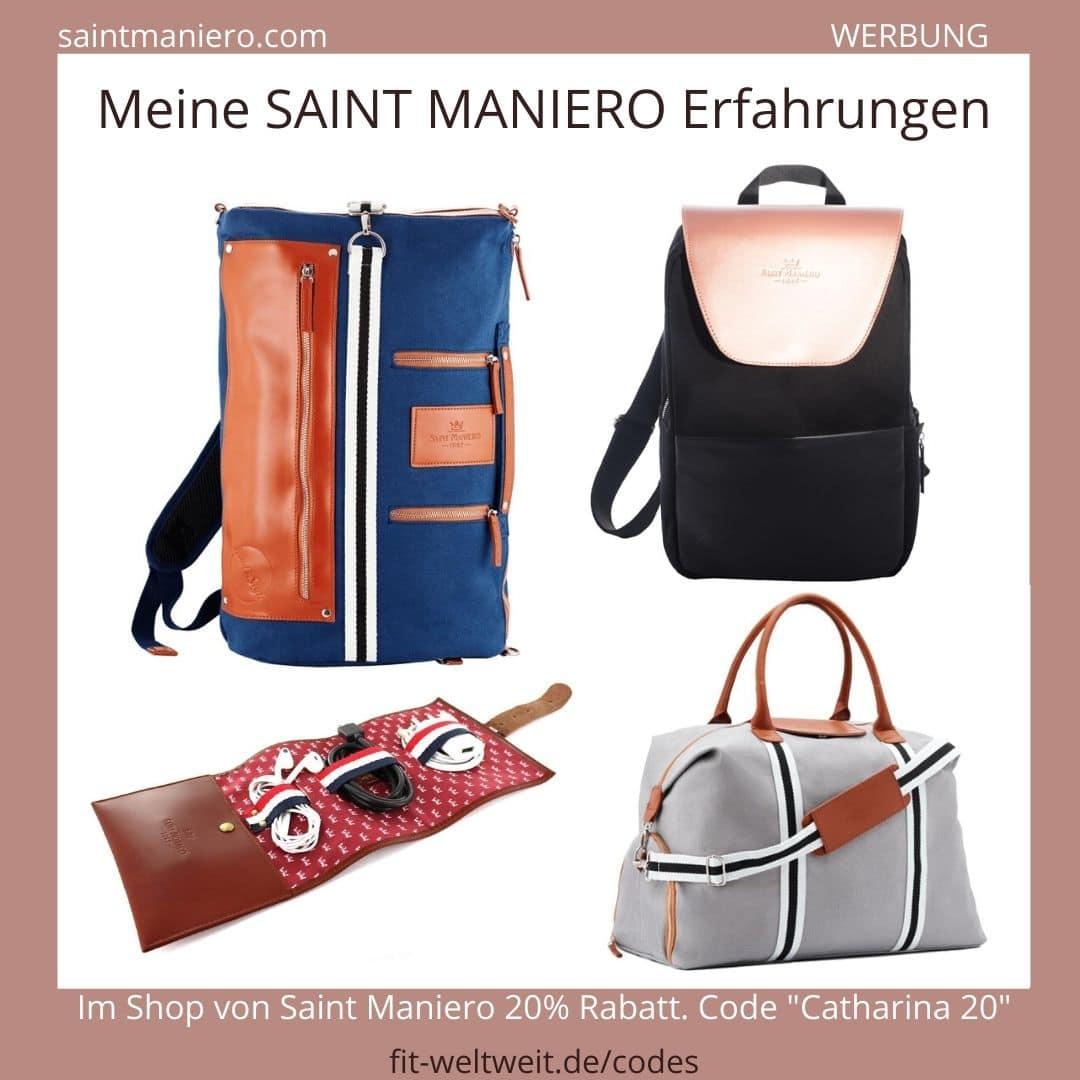 SAINT MANIERO Erfahrungen Taschen Rucksack Rucksäcke Bags