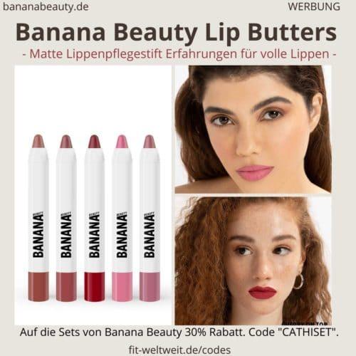 Banana Beauty matte Lip Butters treat me bake me happy cherry on top sugar Babe frostyyy