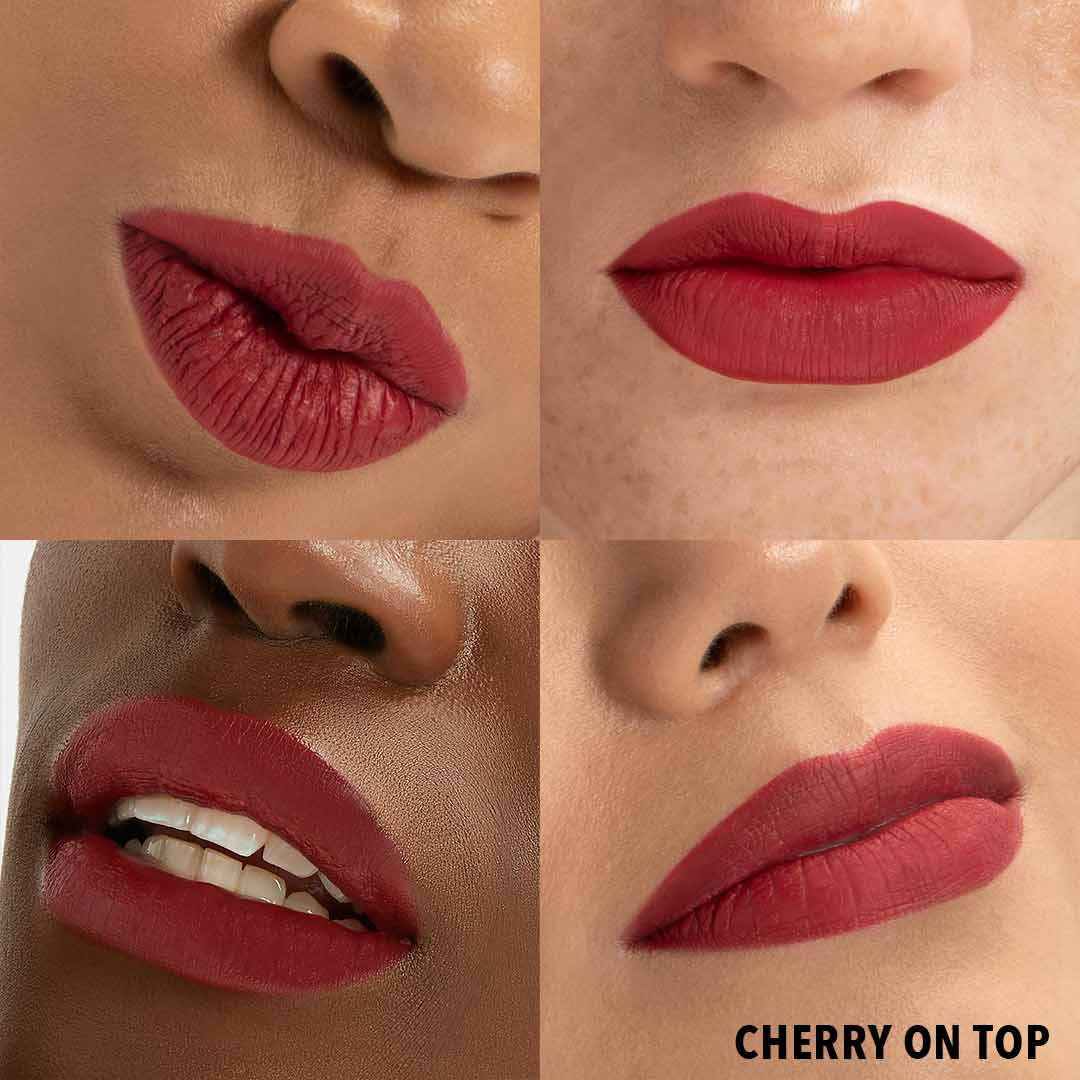 CHERRY ON TOP Lip Butter Anwenung Erfahrung Farben Lipstick
