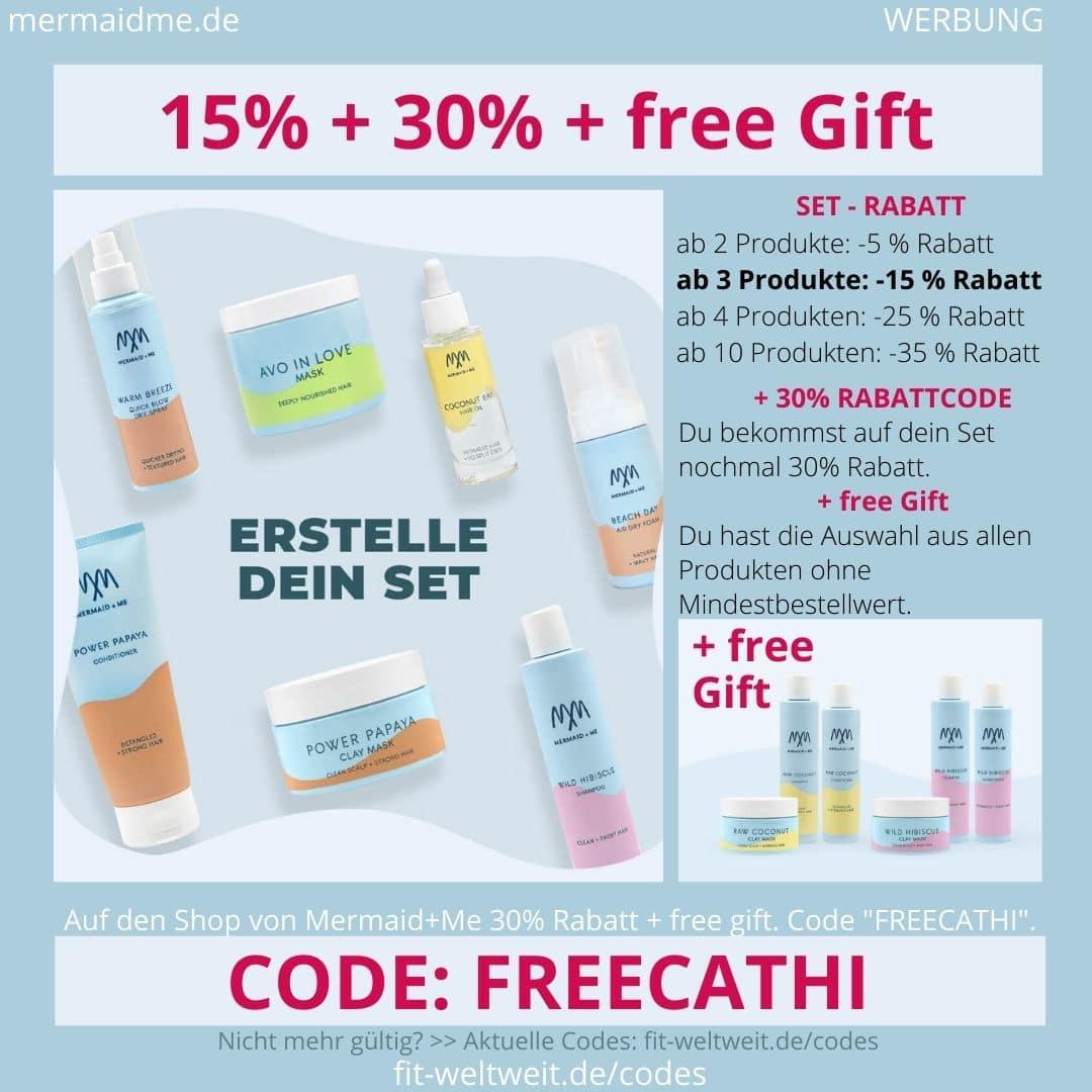 Mermaid and Me 15% Rabatt + 30% Gutschein Code + free Gift Geschenk