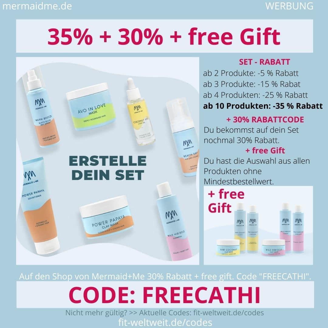 Mermaid and Me 35% Rabatt + 30% Gutschein Code + free Gift Geschenk