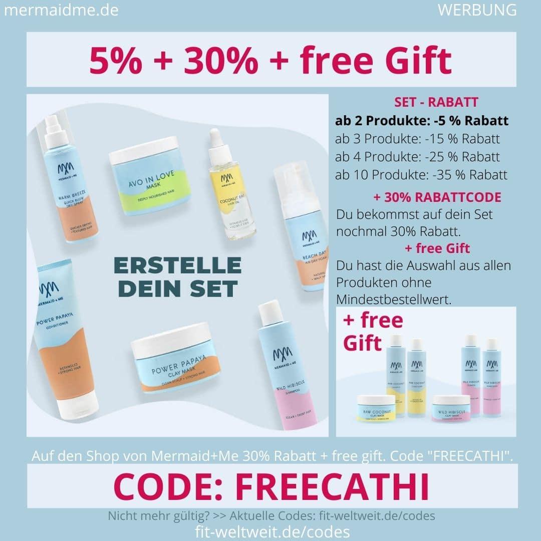 Mermaid and Me 5% Rabatt + 30% Gutschein Code + free Gift Geschenk