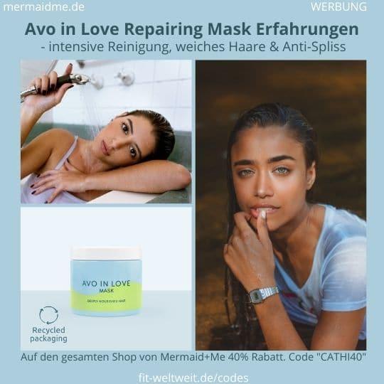 Avo in Love Repairing Mask Erfahrung