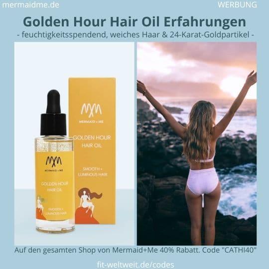 Golden Hour Hair Oil Mermaid and Me Erfahrung