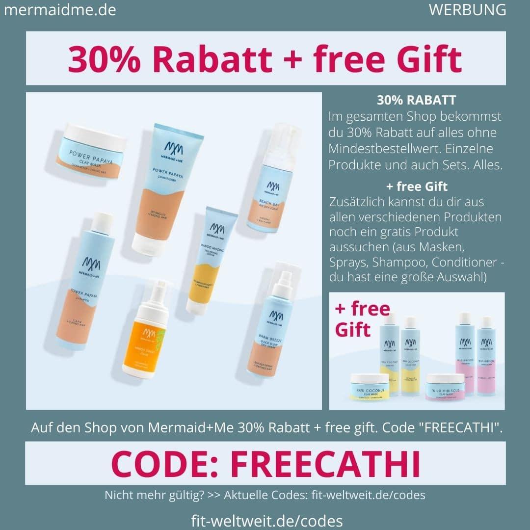Mermaid and Me Gutschein Code 30% Rabatt + free Gift Geschenk