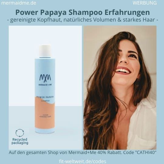 Power Papaya Shampoo Mermaid and Me Erfahrungen