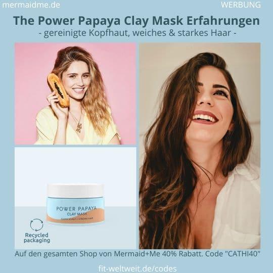 The Power Papaya Clay Mask Erfahrung