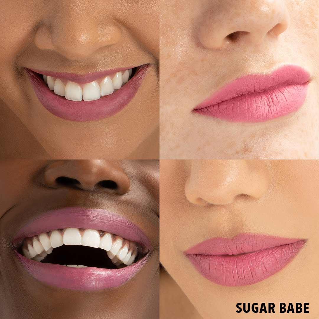 SUGAR BABE Lip Butter Anwenung Erfahrung Farben Lipstick