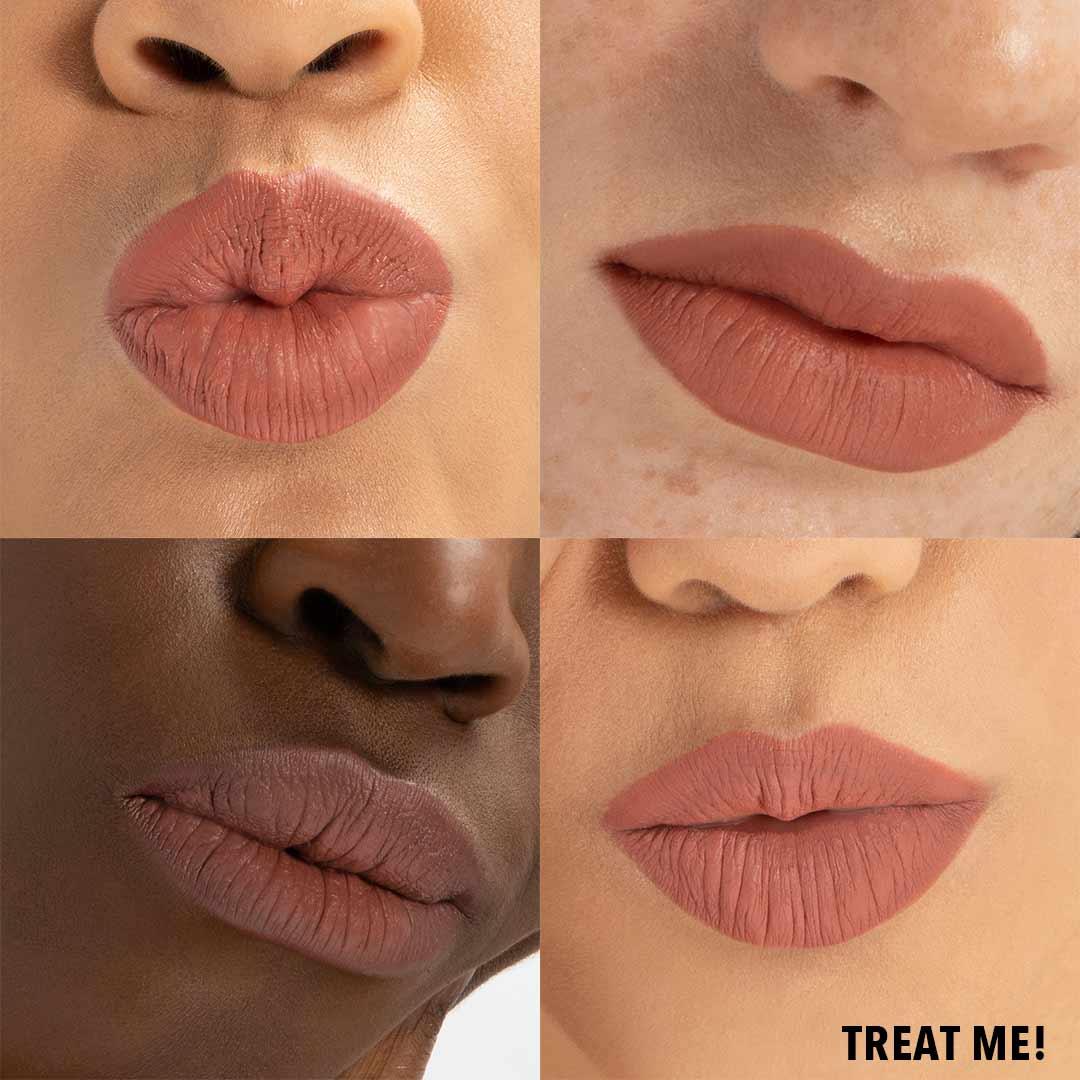 TREAT ME Lip Butter Anwenung Erfahrung Farben Lipstick
