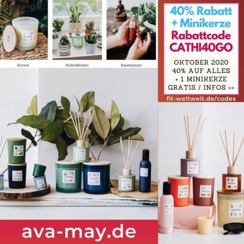 AVA and May Rabattcode Oktober 2020 Gutschein Code