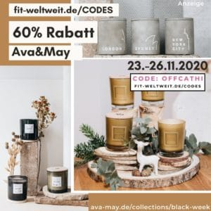 Ava and May Black Week Gutscheincode 60% Rabatt