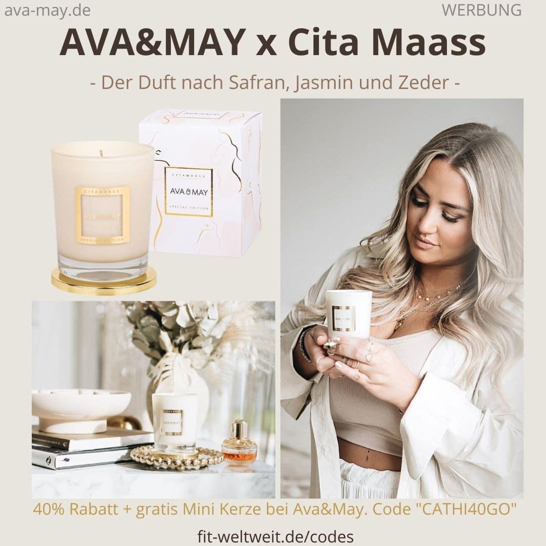 Ava and May Citamaass Duftkerze Erfahrungen Düfte Cita Maass Bewertungen Bedeutung