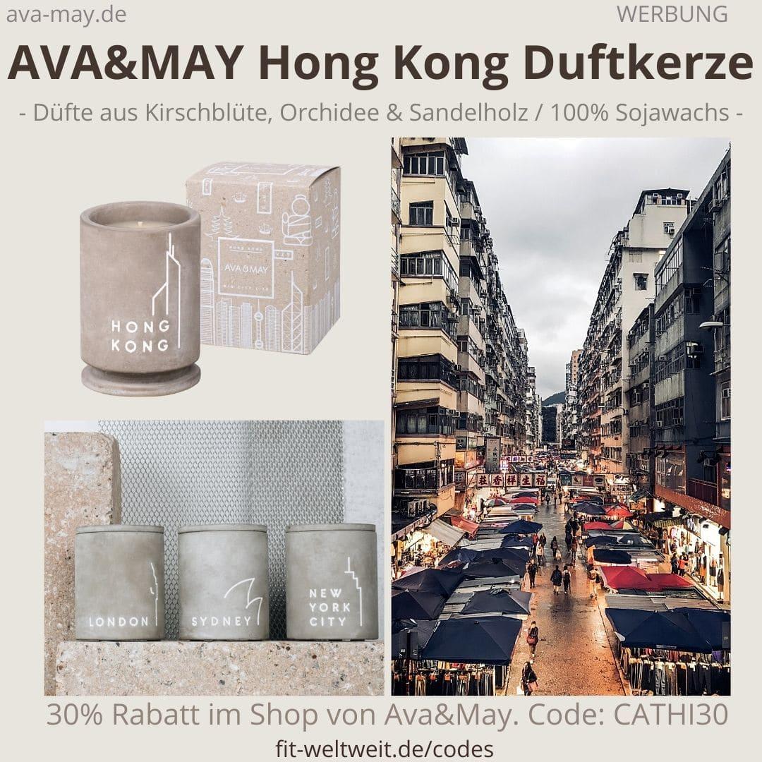 BETON Duftkerzen HONG KONG Ava and May Erfahrung Bewertung