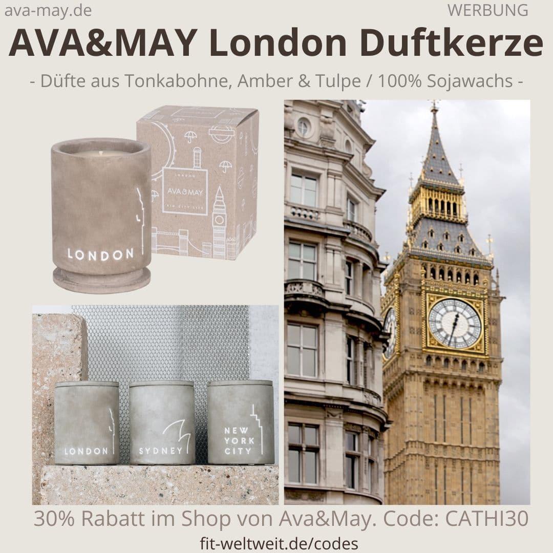 BETON Duftkerzen LONDON Ava and May Erfahrung Bewertung
